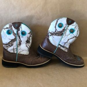 ARIAT FATBABY Cowgirl Western Boots SZ 7.5